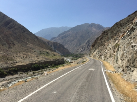 way from Pisco to Huancavelica