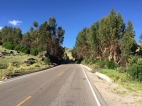way from Huancavelica to Huancayo
