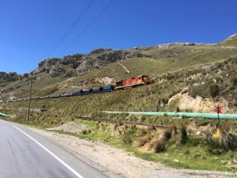 way from Huancayo to Huánuco