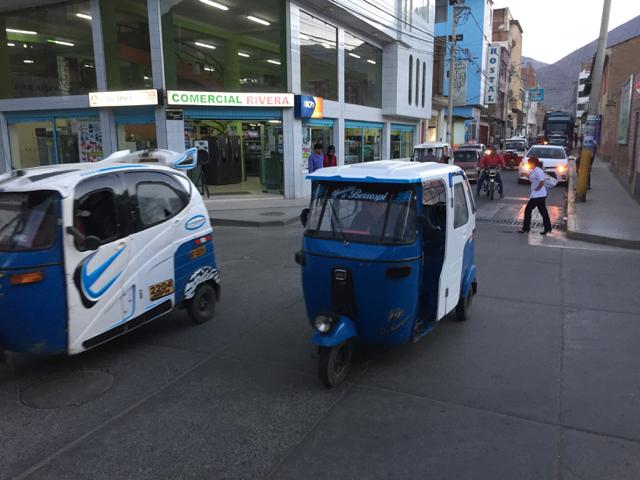 Mototaxis in Huánuco