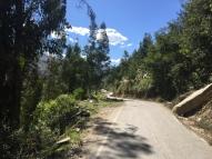 way from Huánuco to Huaraz