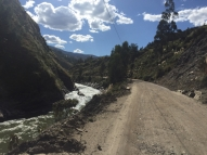 way from Huánuco to Huaraz