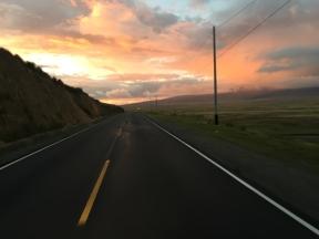 way to Huaraz