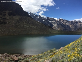 way from Huaraz to Chacas