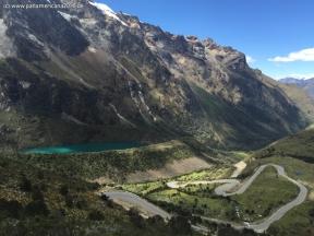 way to Chacas Laguna Yanarraju