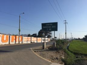 way from Yuracmarca to Chimbote