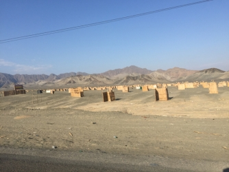 way from Chimbote to Trujillo
