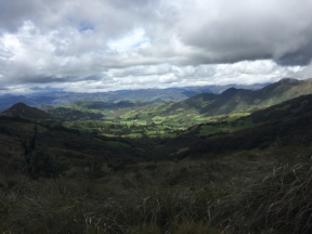 way from Loja to Cuenca