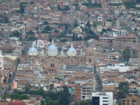 Mirador Turi Cuenca to new cathedral