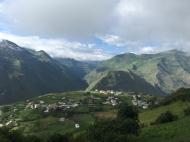 way from Ingapirca to Riobamba