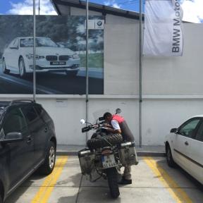BMW dealer in Quito
