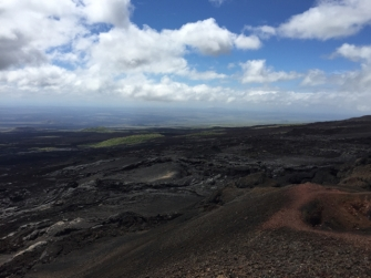 view from volcan Chico