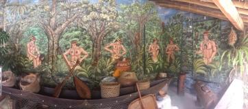 process of shrinking Museo Intiñan