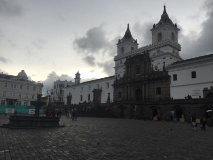 Plaza San Fancisco Quito