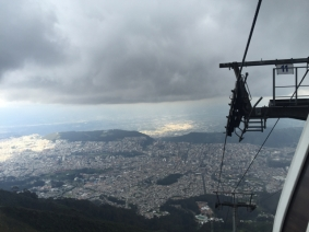 TeleferiQo Quito to volcano Pichincha