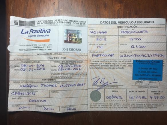 SOAT Peru