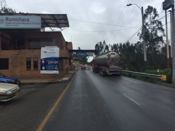 border to Colombia