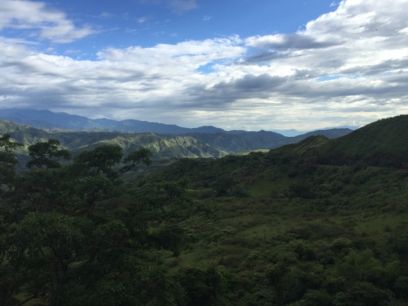 way from Pasto to Popayán