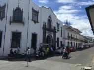 street in Popayán