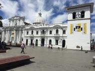 Torre del reloj clock tower Popayán