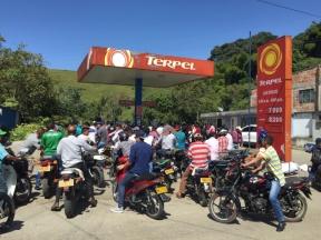 gas station in Iznos