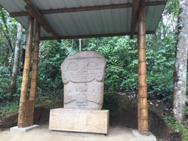archeological park San Augustin