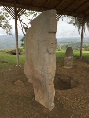 Alto de Lavapatas archeological park San Augustin