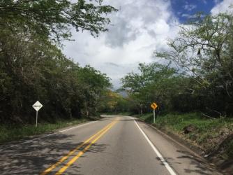 way from San Augustin to Garzón