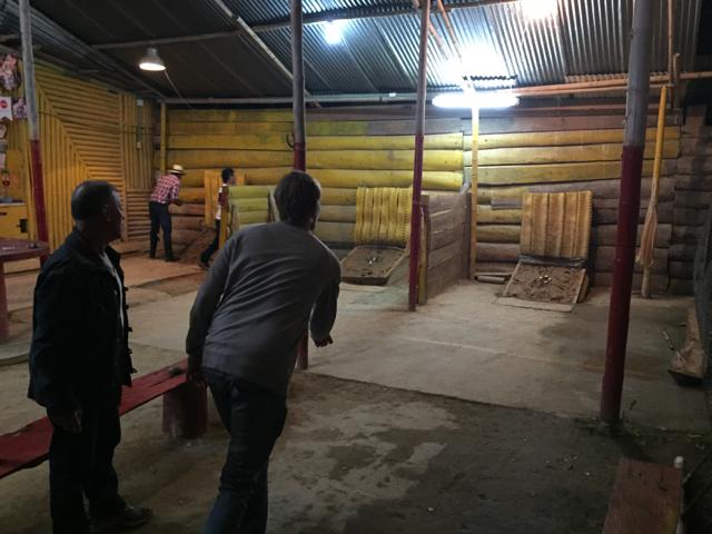 Teja game in Salento