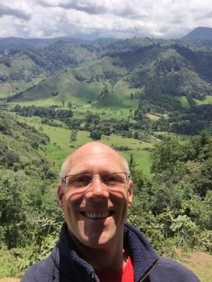 Mirador Salento Valle Cocora selfie