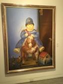 Botéro policeman
