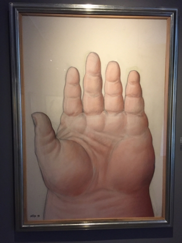 Botéro hand
