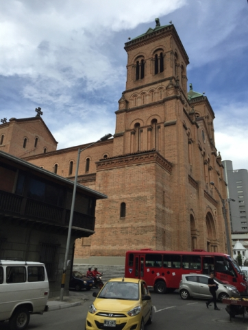 biggest brick church in Medellín