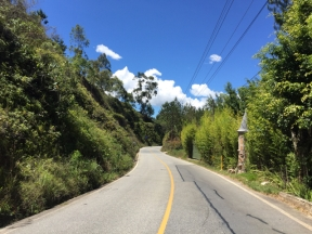 way to Guatapé