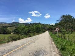 way to Puente Gavino