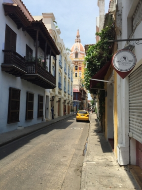old town Cartagena