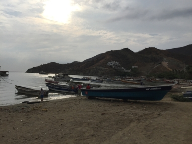 beach of Taganga