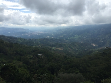 way from Bucaramanga to San Gil