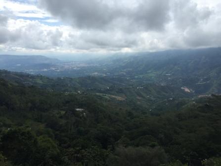 way from Bucaramanga to San Gil