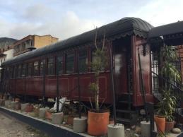 last tram of Bogota